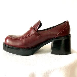 Sketcher Chinky Platform Loafers